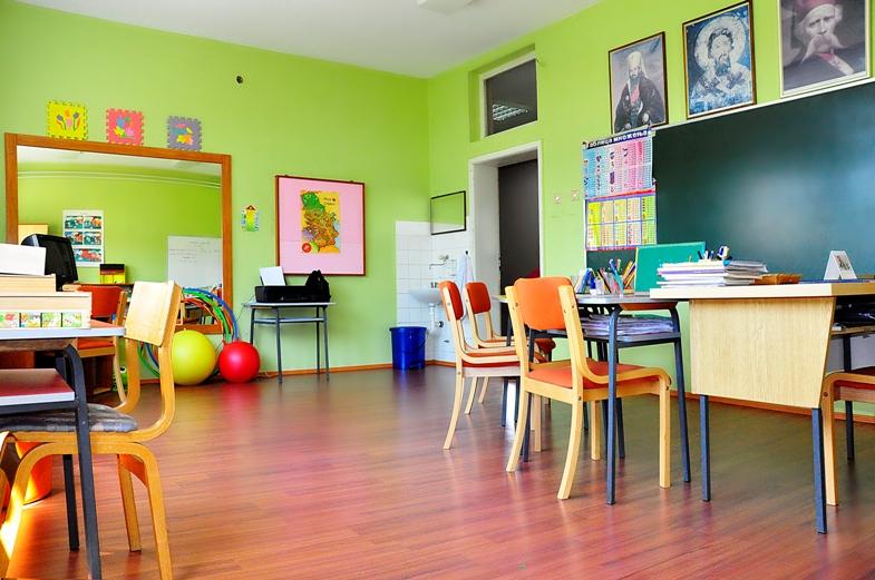 Основна школа - Учионица